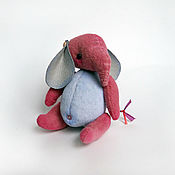 Куклы и игрушки ручной работы. Ярмарка Мастеров - ручная работа Слон Зоя. Handmade.