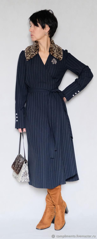 5201ccccf1b Платье в полоску с запАхом – купить в интернет-магазине на Ярмарке ...