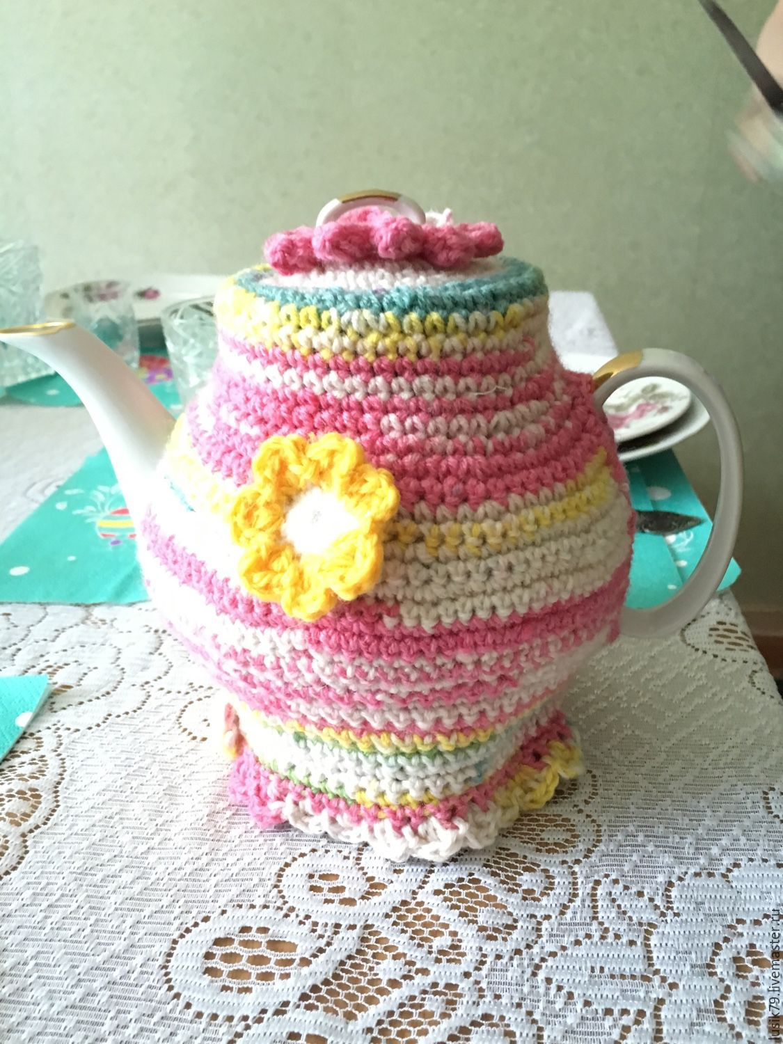 Summer time - tea cosy, Teapot cover, Moscow,  Фото №1