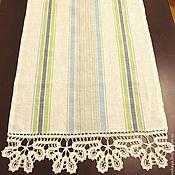 Для дома и интерьера handmade. Livemaster - original item Kitchen towel linen Daisies-2. Handmade.