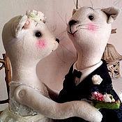 Куклы и игрушки ручной работы. Ярмарка Мастеров - ручная работа Свадьба. Handmade.