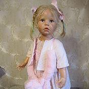 Куклы и игрушки ручной работы. Ярмарка Мастеров - ручная работа Кукла   Hildegard Gunzel Darling. Handmade.