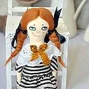 Куклы и игрушки ручной работы. Ярмарка Мастеров - ручная работа Вредина. Текстильная куколка. Handmade.