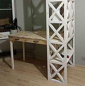Столы ручной работы. Ярмарка Мастеров - ручная работа Стеллаж-стол. Handmade.