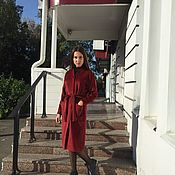 Одежда ручной работы. Ярмарка Мастеров - ручная работа Пальто-халат из кашемира и шерсти. Handmade.