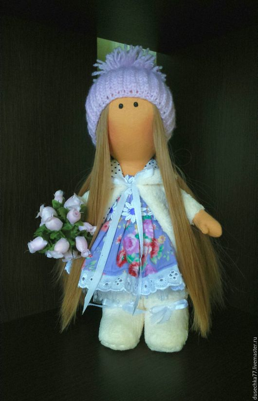 Коллекционные куклы ручной работы. Ярмарка Мастеров - ручная работа. Купить Текстильная кукла,интерьерная кукла, кукла в подарок, мягкая игрушка. Handmade.