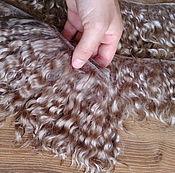 Волосы для кукол ручной работы. Ярмарка Мастеров - ручная работа Трессы мохер прошитые прокленые 15 см. Handmade.