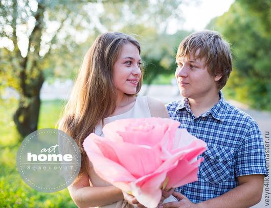 Свадебные цветы ручной работы. Ярмарка Мастеров - ручная работа. Купить Бумажные розы для романтической фотосессии в пастельных тонах. Handmade.