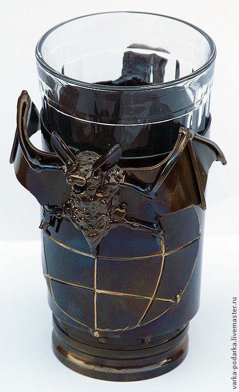 Подарки для мужчин, ручной работы. Ярмарка Мастеров - ручная работа. Купить Военная разведка. Handmade. Серебряный, летучая мышь, лак