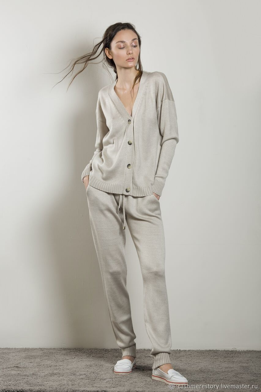 Cashmere suit knitted GiGi, Suits, Moscow,  Фото №1