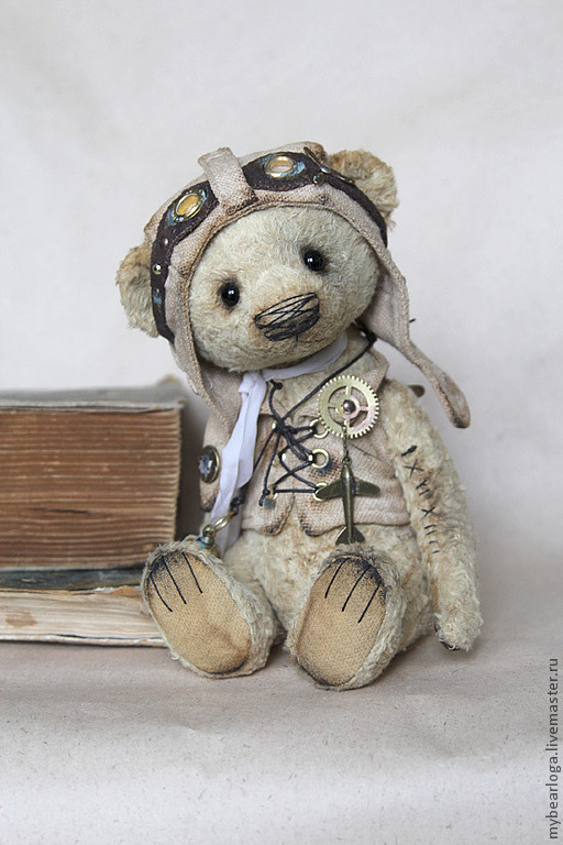 """Мишки Тедди ручной работы. Ярмарка Мастеров - ручная работа. Купить Мишка-Тедди """"Генри стимпанк"""". Handmade. Мишка тедди"""
