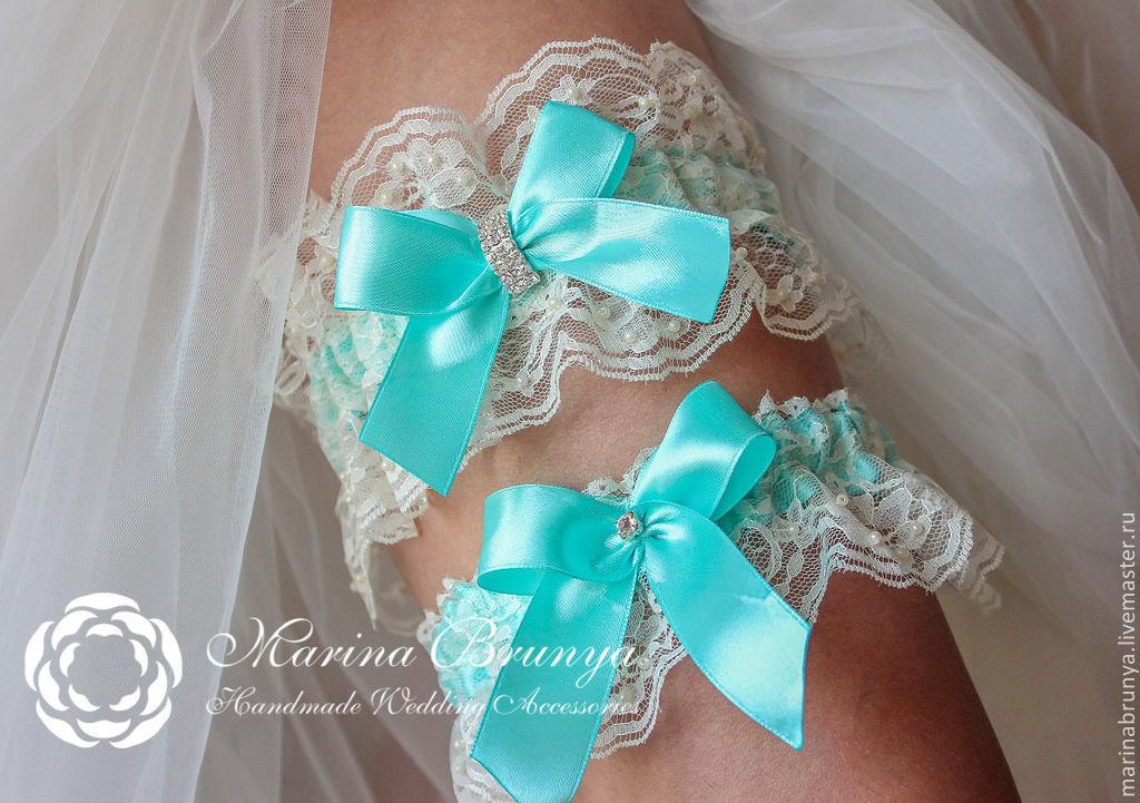 Свадебная подвязка своими руками