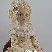 Куклы и пупсы ручной работы. Ярмарка Мастеров - ручная работа Коллекционная текстильная кукла Кэтрин. Handmade.
