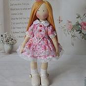 Куклы и игрушки handmade. Livemaster - original item Textile doll Little Princess. interior doll. Handmade.