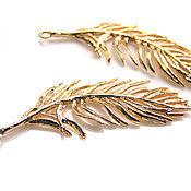 Материалы для творчества handmade. Livemaster - original item Pendant gold plated. Handmade.