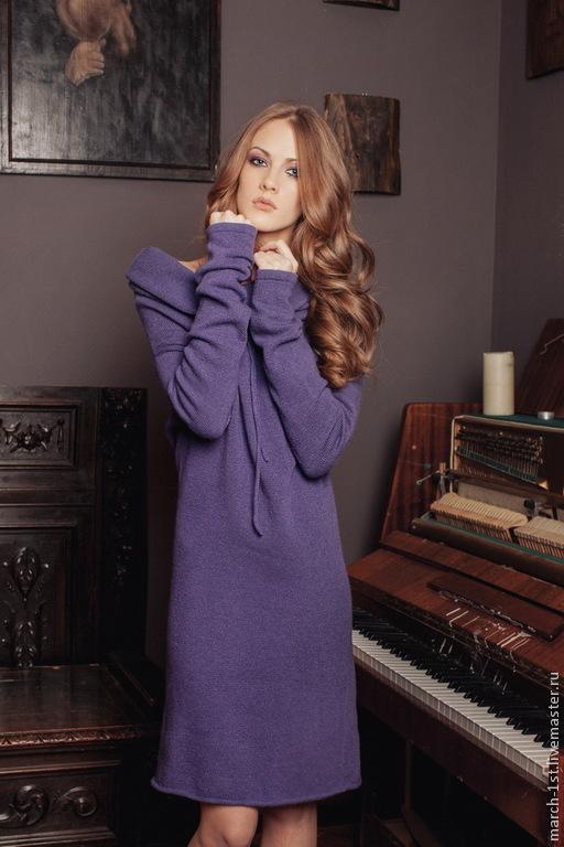 Платья ручной работы. Ярмарка Мастеров - ручная работа. Купить Платье-трансформер Flake. Handmade. Фиолетовый цвет, платье для отдыха