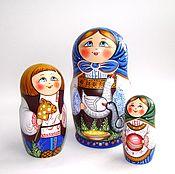 Dolls1 handmade. Livemaster - original item Matryoshka 3 places