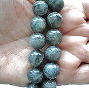 Материалы для творчества handmade. Livemaster - original item Smooth labradorite beads 12mm. Handmade.