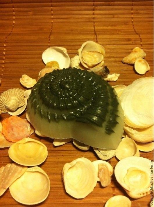 """Мыло ручной работы. Ярмарка Мастеров - ручная работа. Купить Мыло с глиной для лица """"Черное море"""". Handmade. Серый, глина"""
