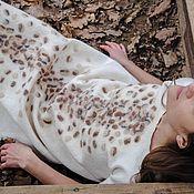 Одежда ручной работы. Ярмарка Мастеров - ручная работа Snow Leopard. Платье.. Handmade.