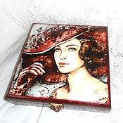 Для дома и интерьера handmade. Livemaster - original item Jewelry box the perfect Lady. Handmade.