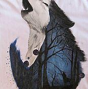 Одежда ручной работы. Ярмарка Мастеров - ручная работа Волк. Handmade.