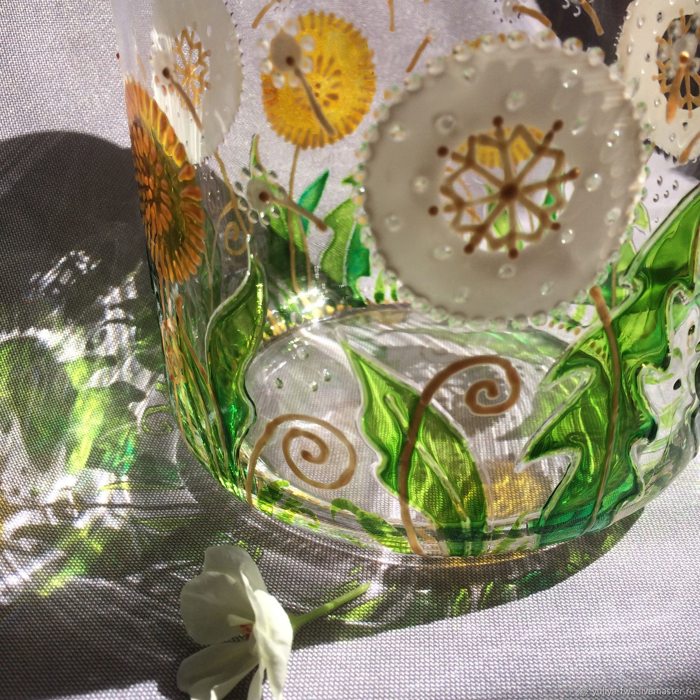 Ёмкость Одуванчики (для сыпучих продуктов), Банки, Сочи,  Фото №1