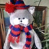 Для дома и интерьера handmade. Livemaster - original item Pillow toy cat,soft pillow,children`s toy. Handmade.