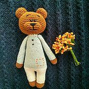 Мишки Тедди ручной работы. Ярмарка Мастеров - ручная работа Мишка вязаный крючком. Handmade.