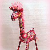 Куклы и игрушки ручной работы. Ярмарка Мастеров - ручная работа Жирафёнок   :). Handmade.