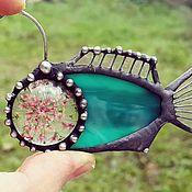 Украшения handmade. Livemaster - original item Brooch, an Angler Stargazer (bro-009-01). Handmade.