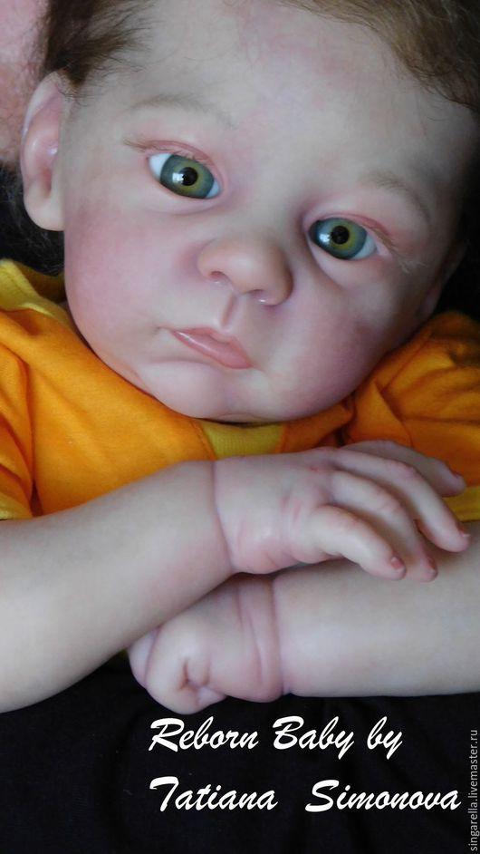 Куклы-младенцы и reborn ручной работы. Ярмарка Мастеров - ручная работа. Купить Кукла реборн  из молда Харлоу.. Handmade. Бежевый