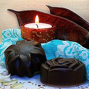"""Косметика ручной работы. Ярмарка Мастеров - ручная работа шоколадные гидрофильные плитки для тела """"Нектар блаженства"""". Handmade."""