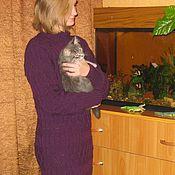 Одежда handmade. Livemaster - original item Knitted dress long to the floor. Handmade.