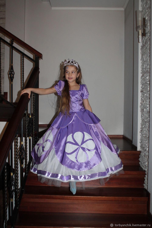 7ba1dc1cae7b8e2 ручной работы. Ярмарка Мастеров - ручная работа. Купить Платье принцессы  Софии. Handmade. ...