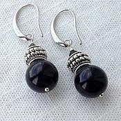 Украшения handmade. Livemaster - original item Earrings in Black Swan.). Handmade.