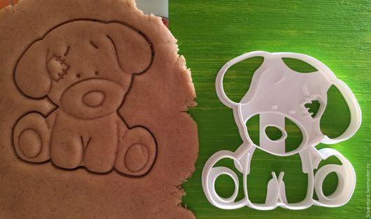 Кухня ручной работы. Ярмарка Мастеров - ручная работа. Купить Форма для печенья Плюшевая собака. Handmade. Комбинированный, формочка для печенья