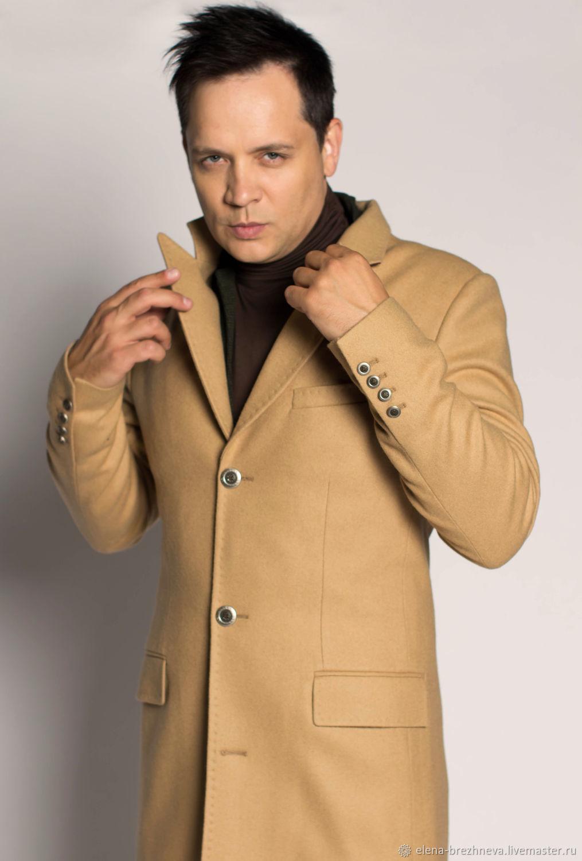 Пальто классическое с заострённым лацканом – купить на Ярмарке Мастеров – JSZDERU   Верхняя одежда мужская, Москва