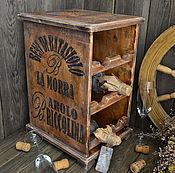 Для дома и интерьера ручной работы. Ярмарка Мастеров - ручная работа «Бароло» Мини-бар. Handmade.