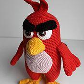 Куклы и игрушки ручной работы. Ярмарка Мастеров - ручная работа Злая птичка...Ред.. Handmade.