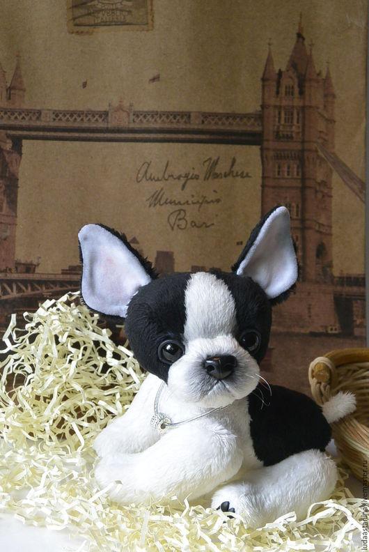 """Куклы и игрушки ручной работы. Ярмарка Мастеров - ручная работа. Купить Выкройка-Бульдожка """"Моня"""".. Handmade. Собака, собаки, щенки"""