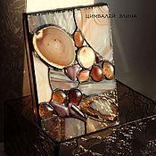 """Для дома и интерьера ручной работы. Ярмарка Мастеров - ручная работа Шкатулка """"Тёплый вечер"""".. Handmade."""