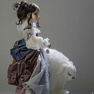 """Куклы и игрушки ручной работы. Ярмарка Мастеров - ручная работа """"Обитатели зимних снов"""" Художественная кукла. Handmade."""