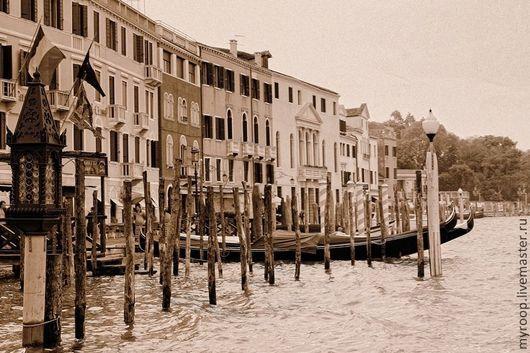 Фотокартины ручной работы. Ярмарка Мастеров - ручная работа. Купить Венецианские мотивы. Handmade. Бежевый, италия, Туризм, фотокартина для интерьера