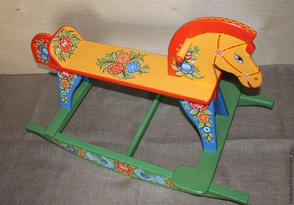 Проект деревянные игрушки лошадка