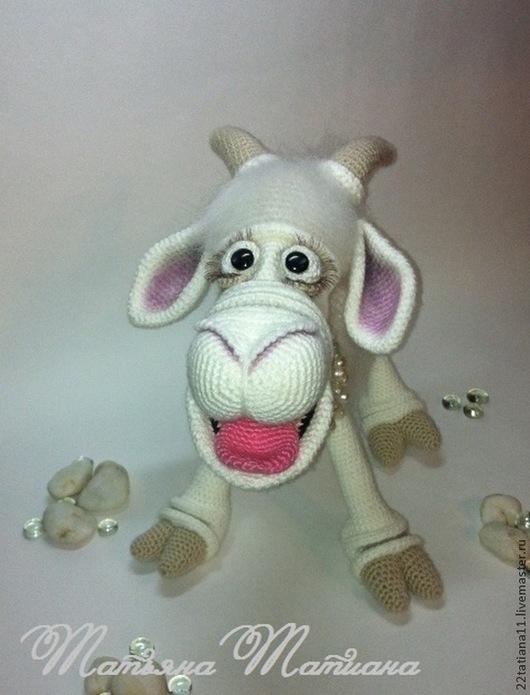 """Игрушки животные, ручной работы. Ярмарка Мастеров - ручная работа. Купить Мастер - класс Коза """" ЗОря """". Handmade."""