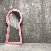 Для дома и интерьера handmade. Livemaster - original item Mirror TESLA in the form of a keyhole. Handmade.
