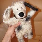 Куклы и игрушки ручной работы. Ярмарка Мастеров - ручная работа Перчаточная кукла - Собачка. Handmade.