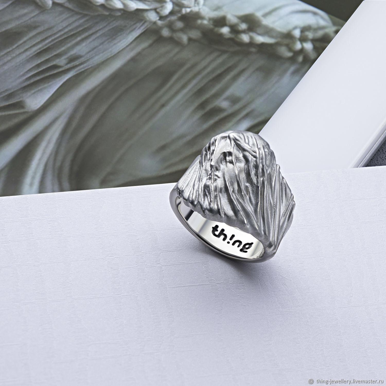 Кольцо женское серебряное MARBLE VEIL, Кольца, Москва,  Фото №1
