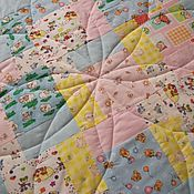 Для дома и интерьера ручной работы. Ярмарка Мастеров - ручная работа Детское одеяло  Для любимой капризули 2. Handmade.
